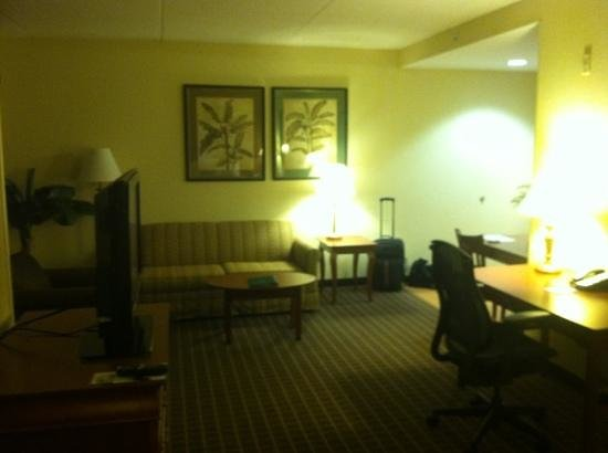 Homewood Suites by Hilton Columbia : living area