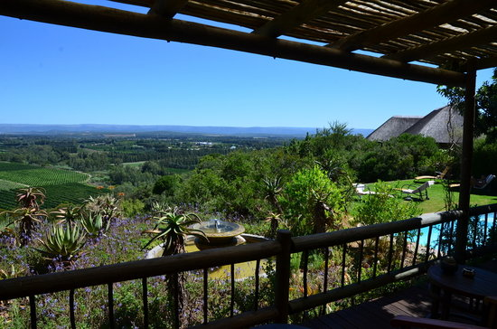 Hitgeheim Country Lodge: superbe vue du lodge