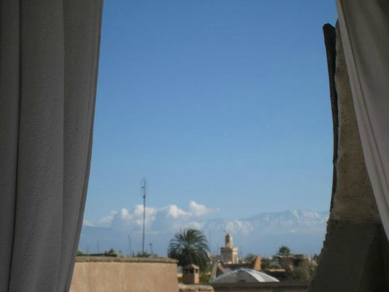 Riad Kheirredine:                                                       Great view from the roof