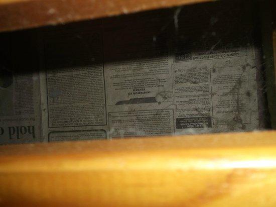 Inkosana Lodge:                                                                         Sous le lit