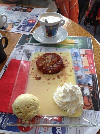 Chez Axel :                   Tarte tatin (десерт)