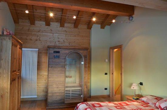 Hotel L'Espoir:                   Jr Suite con sauna