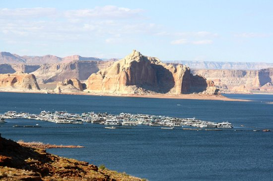 Lake Powell Resort: Lake Powel from the resort