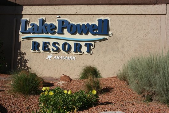 Lake Powell Resort: the reception