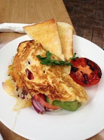 Easy Cafe:                   omelet