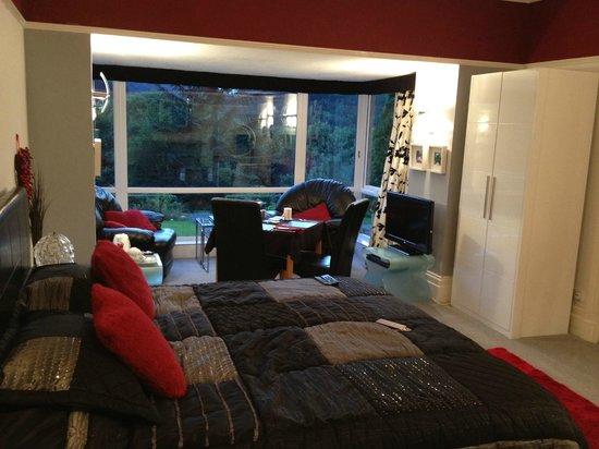 Tyn-y-Fron Luxury B&B:                   Room/Room view