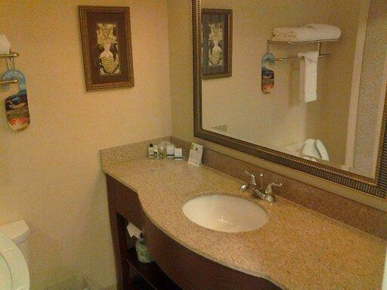 Holiday Inn Express & Suites Lakewood Ranch:                   Bathroom