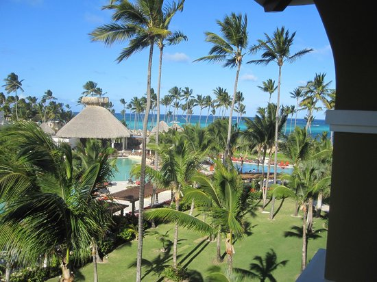 Now Larimar Punta Cana:                   View off of our balcony