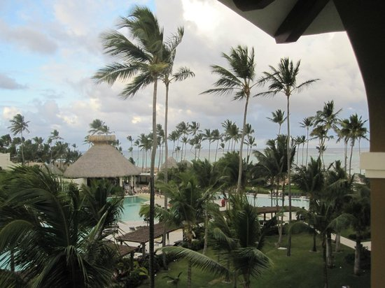 Now Larimar Punta Cana:                   Looking toward the ocean and beach house restaurant