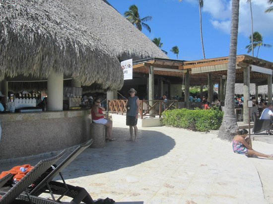 Now Larimar Punta Cana:                   One of the bars at beach and pools