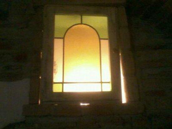 B&B Acquedotto:                   dettaglio della finestrella