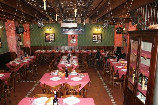 Ristorante Pizzeria Boccaccio Life: la nostra sala principale