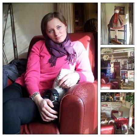 Hotel Les Bains:                   холл ле бен