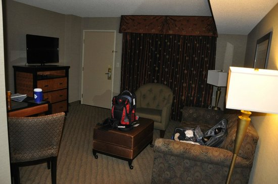 Embassy Suites by Hilton Brea - North Orange County:                   Typical room