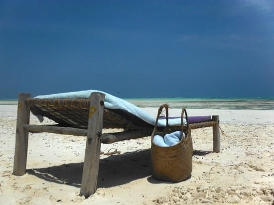Hakuna Majiwe Beach Lodge: la spiaggia di paje