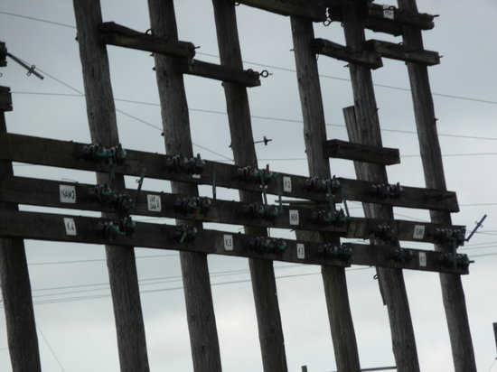 World Heritage Grimeton Radio Station:                   Antennenschalter ? (DJ3FS)