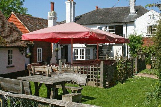 The Red Lion Inn: Our rear garden
