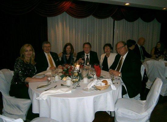 Hampton's Restaurant:                   Skal Hamilton Gala