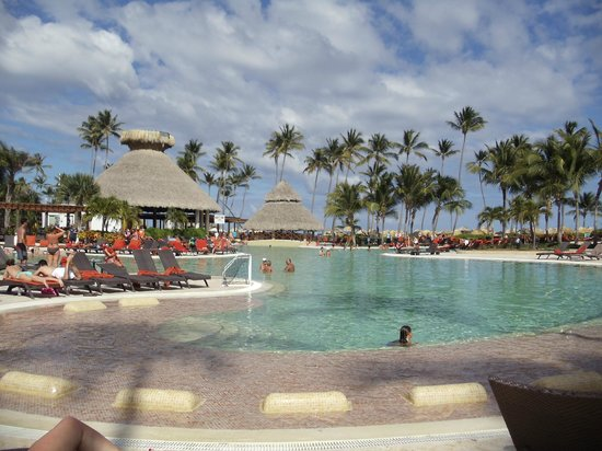 Now Larimar Punta Cana:                   Main pool