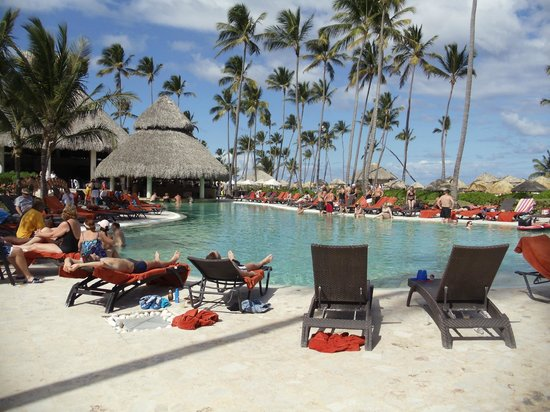 Now Larimar Punta Cana:                   Main pool bar