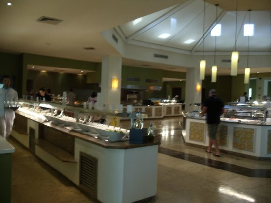 Now Larimar Punta Cana:                   buffet