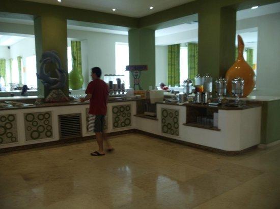 Now Larimar Punta Cana:                   buffet