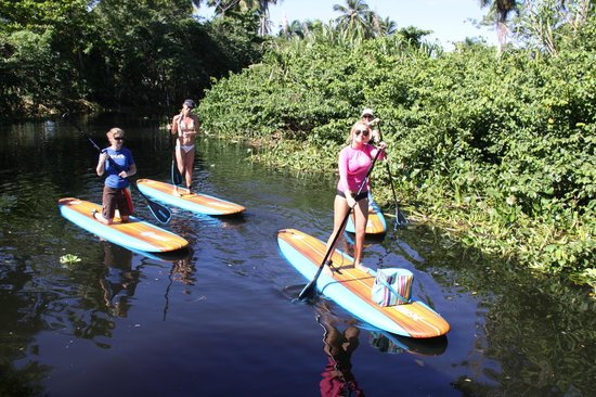 Kiters Of The Caribbean: La Boca de Yasica, Stand up paddle board tour