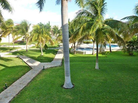 Ocean Spa Hotel:                   vista desde mi habitación