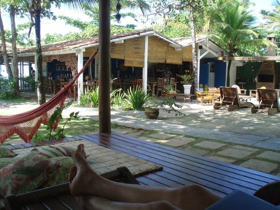 Aquarela Praia:                   Muito verde, o hotel é maravilhoso