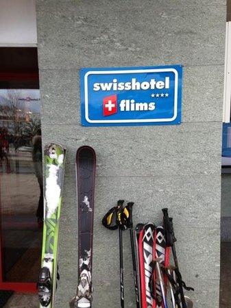 Swisshotel Flims:                   уютное место