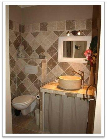 Mas La Renaissance : Salle de bain Roma