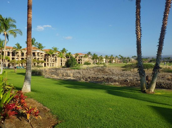 The Bay Club at Waikoloa Beach Resort:                   View from our Villa