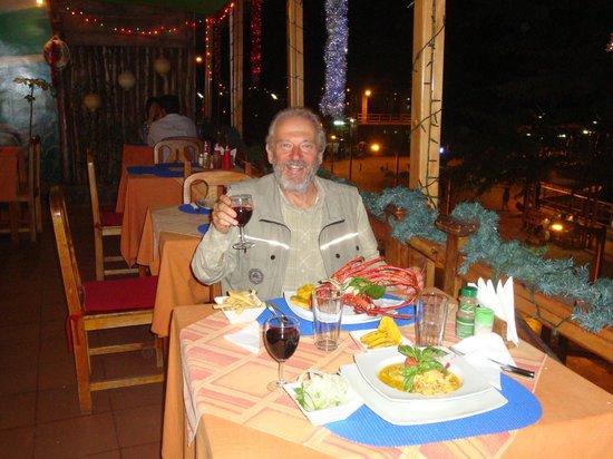 Restaurante Miconia:                   Aragosta al Miconia