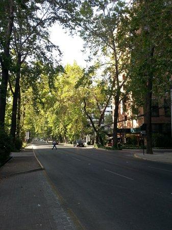 Park Plaza:                   Fachada e rua