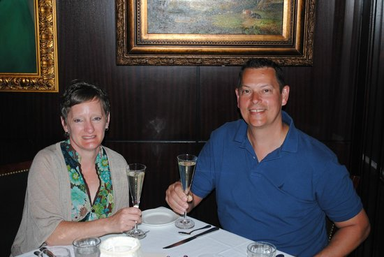 The Capital Grille: Our Champagne Toast
