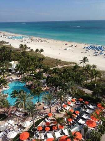 Royal Palm South Beach Miami, A Tribute Portfolio Resort:                   the view from the 15th floor at the James. #1546