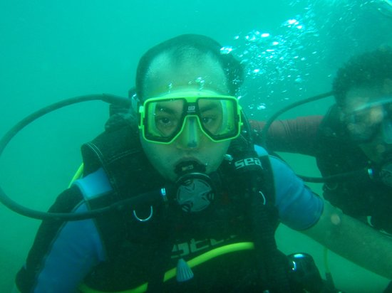 Goa Aquatics:                   10m under water
