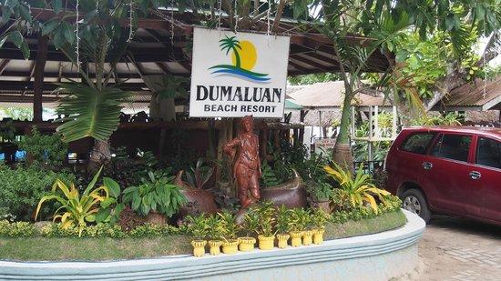 ‪‪Dumaluan Beach Resort 2‬: Front‬
