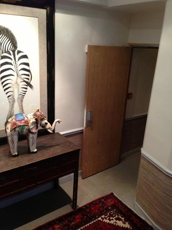 Hotel Nicolo: couloir