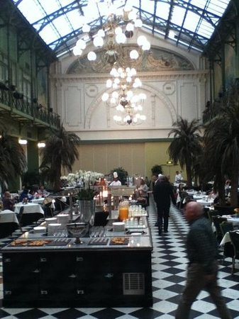 NH Collection Amsterdam Grand Hotel Krasnapolsky:                   winter garden