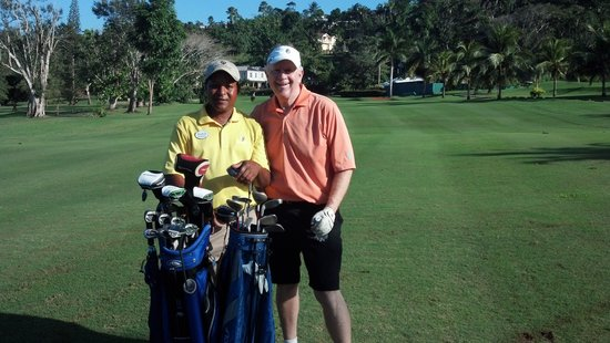 Sandals Golf & Country Club :                   Sandal's Caddie Rudy