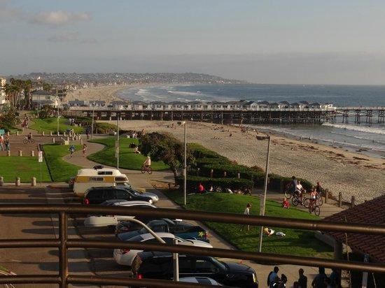 باسيفيك تيراس هوتل:                   View from the Balcony                 