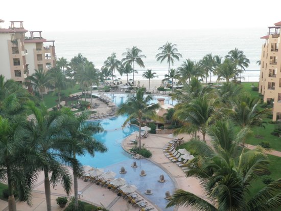 Villa La Estancia Beach Resort & Spa Riviera Nayarit:                   View from the balcony