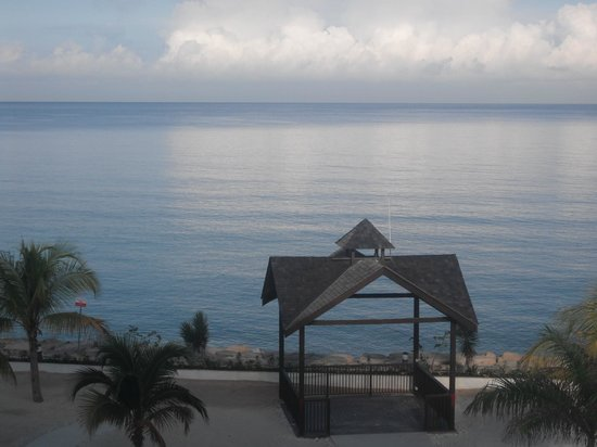 Secrets St. James Montego Bay:                   The view from our room