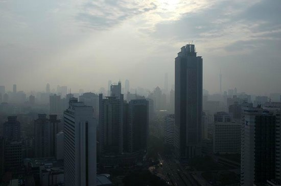 Crowne Plaza Guangzhou City Centre: View from the room