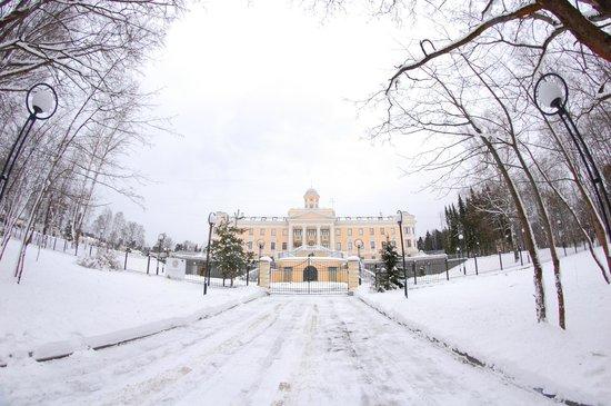 Residence Hotel & SPA:                   Главные ворота