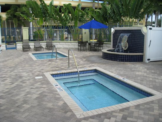 "Hotel Indigo Sarasota:                   The heated and not heated ""Pools"""