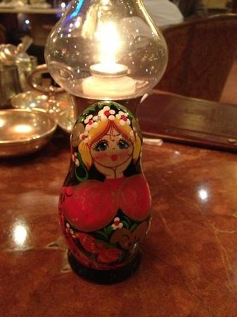 Michelangelo Towers: My Matryoshka and I at Michelangelo Lounge :)