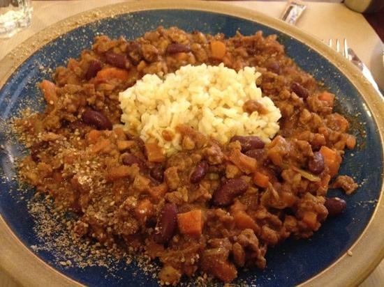 Chez Helen:                   Chili Sin Carne