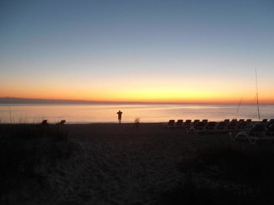 Sandcastle Resort at Lido Beach:                   Sunset